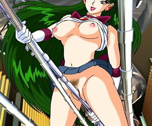 Sailormoon masturbating and posing - fastening 408