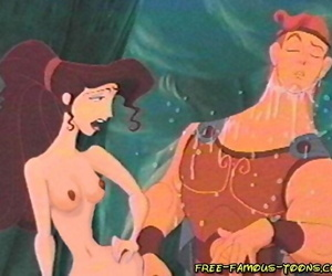 Pretentiously toons hercules and megara evil orgy - part 1556