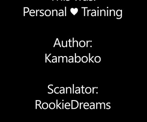 Kamaboko Personal Training COMIC HOTMILK 2020-12 English RookieDreamsScanalation Digital