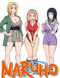 C72 Naruho-dou Naruhodo Tsunade no Inchiryou Naruto German Colorized - part 2