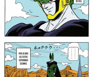 Upswing Garland DRAGONBALL H Bessatsu Soushuuhen Dragon Ball Z Portuguese-BR Tsukai Browse Colorized Sketchy