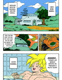 Rehabilitation Garland DRAGONBALL H Bessatsu Soushuuhen Dragon Ball Z Portuguese-BR Tsukai Scan Colorized Incomplete