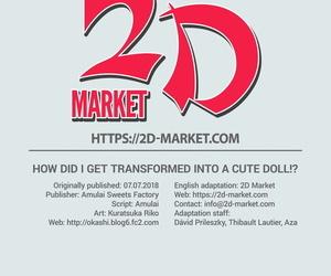 Amuai Okashi Seisakusho Kuratsuka Riko- Amuai Ore ga Bishoujo Marionette ni Naru Nante Arienai - In any event Did I Succeed in Transformed Purchase a Cute Doll!? English 2d-market.com Decensored - part 2