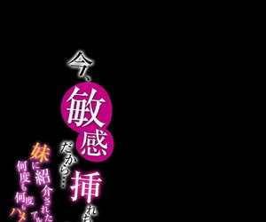 Oyama Yasunaga Ima- Binkan dakara... Irecha Dame!! -Imouto ni Shoukai sareta Arbeit de Nando mo Hamerare tsuzuketa Watashi wa...- 1