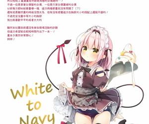 GW Chou Doujinsai Unagiyasan Hanamiya Natsuka White To Navy 4 Chinese 兔司姬漢化組