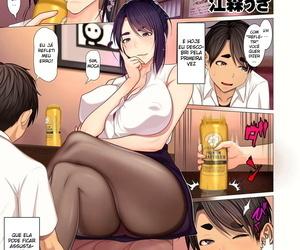 Emori Uki Oba-chan no Waki to Ashi to etc... - Aunties Armpits- Feet- etc... COMIC KURiBERON DUMA 2020-07 Vol. 21 Portuguese-BR