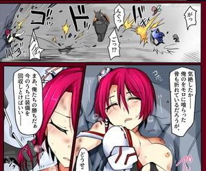 /¥ Majutsu Gakuto Comari VS Dosukebe Goninshuu - part 3