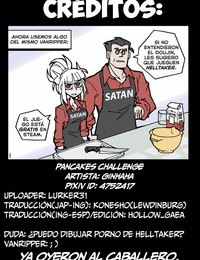 Ginhaha Pancakes Challenge - Desafío de Panqueques Helltaker Spanish HGnF