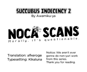 Awamiku-ya Succubus Indecency 2 - Inma Tawake 2 Noca ScansEnglishDigital - attaching 2
