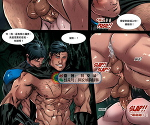 Phausto DC Comics - Batboys 2 Batman Bruce Wayne x Robin Tim Drake x Nightwing Dick Grayson x Red Hood Jason Todd x Red Arrow Roy Harper Chinese 同文城