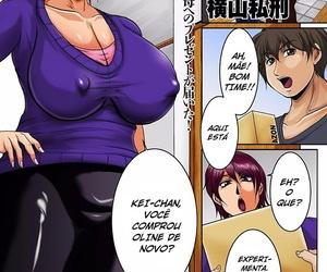 Yokoyama Lynch Okaa-san no Hamike ga Tamaranai - I Can't Get Enough of Mom's Hair Sticking Out! comic KURiBERON DUMA 2018-01 Vol. 06 Portuguese-BR Digital