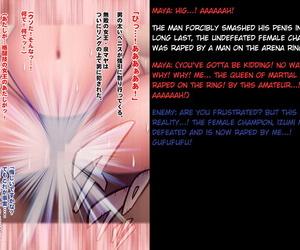 Crimson Girls Fight -Maya- Digital Comic Version English HMC Translation