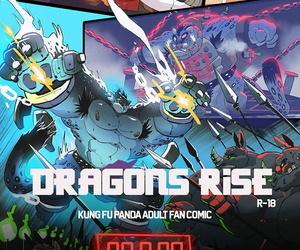 balmos Dragons RiseEnglishKung Fu Panda - part 2