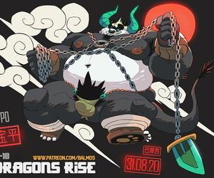 balmos Dragons RiseEnglishKung Fu Panda - part 3