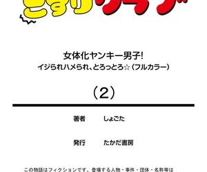 Shogota Nyotaika Yankee Danshi! Ijirare Hamerare- Torottoro 2 - 여체화 양아치 남자 2 Korean 몰길 Digital
