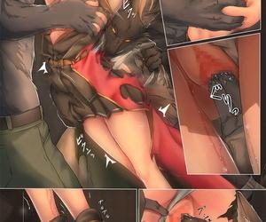 BackyourLuck mogO-721 Juujin ni Torawareta Onna Kishi hardly ever Junan English Hennojin - part 3