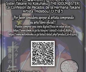 Hidebou House Hidebou Sister Takane no Kokuhaku - La Confesión de Pecados de la Hermana Takane THE iDOLM@STER Spanish Hellsin
