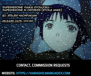 Atelier Hachifukuan Superheroine Yuukai Ryoujoku - Superheroine in Distress Etoile Ange English Harasho Project - part 2