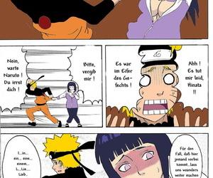 SC36 Naruho-dou Naruhodo Hinata Ganbaru! - Hinata Fight! Naruto German Colorized - part 2