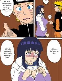 SC36 Naruho-dou Naruhodo Hinata Ganbaru! - Hinata Fight! Naruto German Colorized