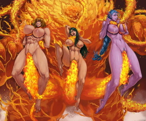 XXOOM Burn around Sheol