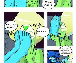 Mr.ChaseComix A Little Lapidot Comic Steven Universe