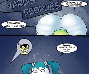 FLBL Xj9 Porn Comic My Life as a Teenage Robot Spanish kalock