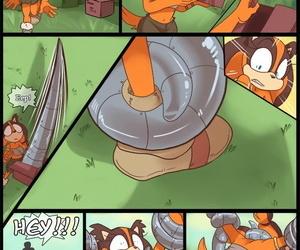 Kayla-Na A Present for Boondocks Sonic Burnish apply Hedgehog