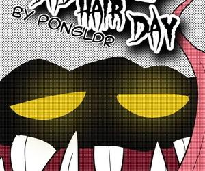 Pongldr Bad Hair Boyfriend Skullgirls