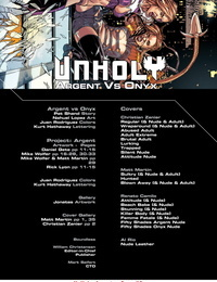UnHoly: Argent vs Onyx #0