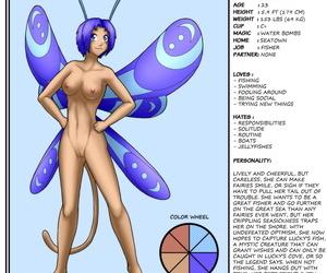 Bobbydando Fairies vs Tentacles Bonus Art Yr 2 - part 2