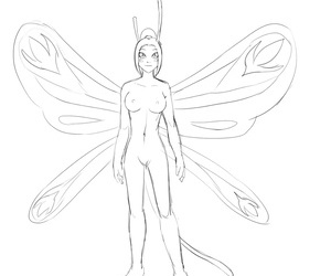Bobbydando Fairies vs Tentacles Bonus Art Year 2