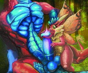 Horny Dragon Horny Dragon Portfolio - part 3