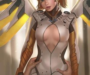Character ::: Mercy Overwatch - part 2