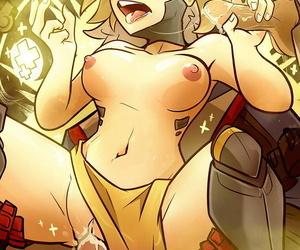 Character ::: Mercy Overwatch - part 3