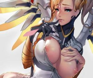 Temper ::: Mercy Overwatch