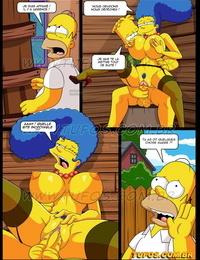The Simpsons 12 - Grimpée dans la cabane -