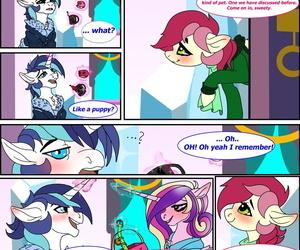 Brainiac A Single Crystal Rose My Little Pony Friendship Is Magic