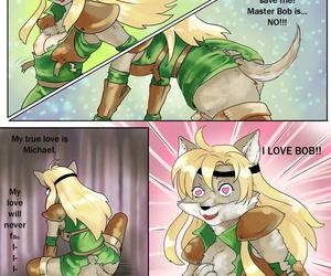 FalyneVargerThe Elf RangerThe Elf Wolf transformation
