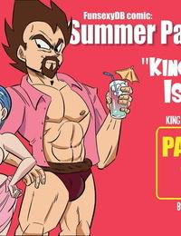 FunsexyDB Summer Paradise: King of the Isle Dragon Ball Z