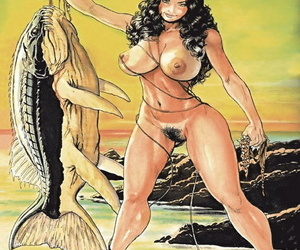 Budd Root Cavewoman: Carrie's Oasis Diary - part 2