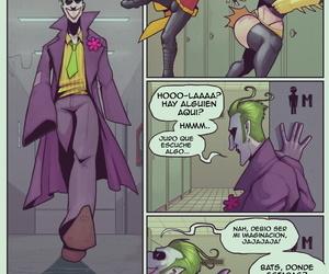 DevilHS Batgirl Loves Robin Batman Spanish