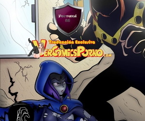 SlashySmiley Daños Publicos / Possessions Misapplication Teen Titans Spanish