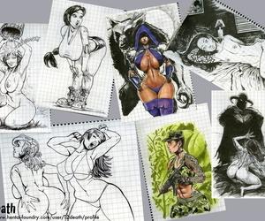 Artist - T2death HF Gallery + Detritus - part 4