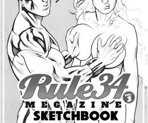 Shade Rule34 Scrapbook vol.3 Sketchbook - part 2