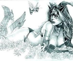 My Portico Tarot Hobby of someone\'s skin Black Rose - affixing 2