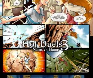 r_ex Hot Duels 3 - Nami Vs Elaine Two Piece- Monkey Islet Portuguese-BR