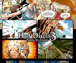 r_ex Hot Duels 3 - Nami Vs Elaine One Piece- Monkey Islet Portuguese-BR