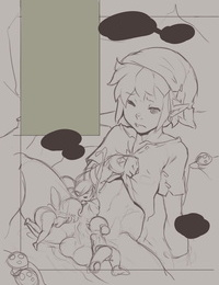 Norasuko Zelda - A Linkle to the Past + original sketches re-up - part 2
