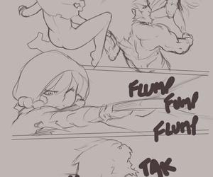 Norasuko Zelda - A Linkle dull + original sketches re-up - part 3